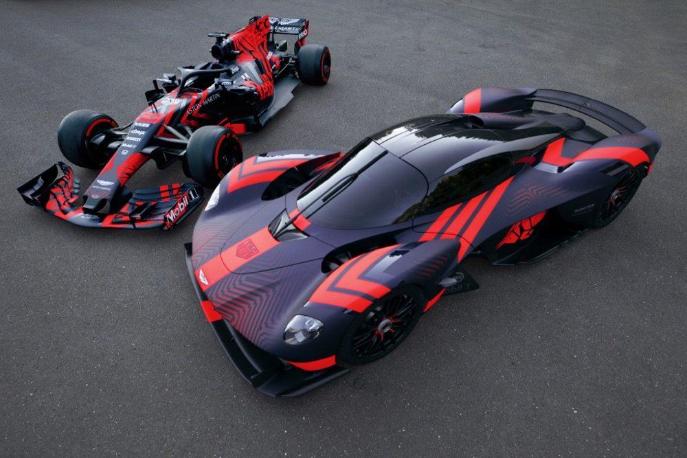 Aston Martin Valkyrie Bereit Mitte 2021 Fliesen Hasse